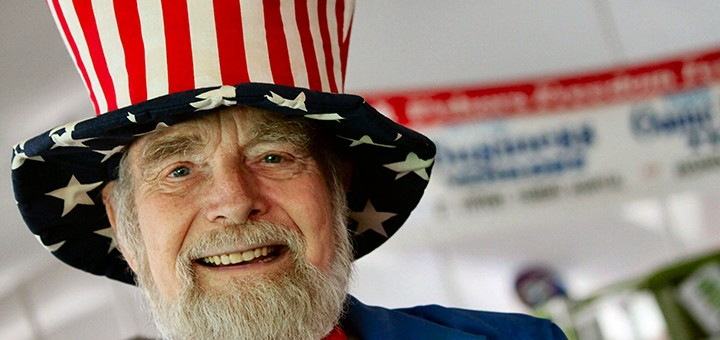 Earl Lott dressed up as Uncle Sam for last year's freedom festival. (Submitted photo)