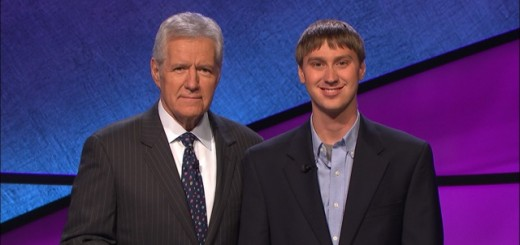 "Sawyer Morgan with ""Jeopardy"" host Alex Trebek (Submitted photo)"