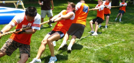 Participants in last year's Man Olympics. (Submitted photos)