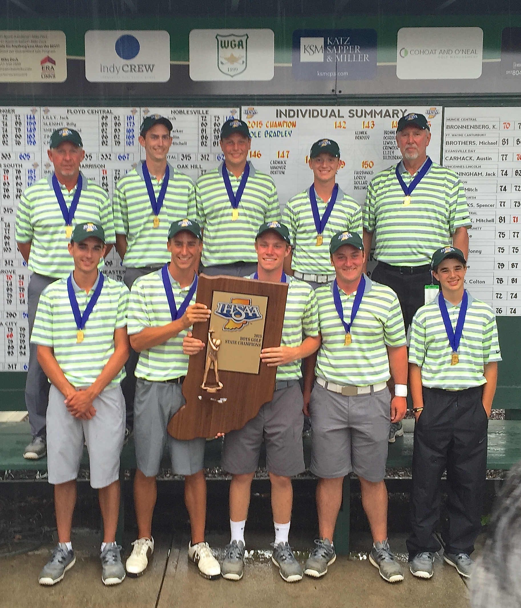 Westfield High: Westfield High School Boys Golf Grabs Second State Title