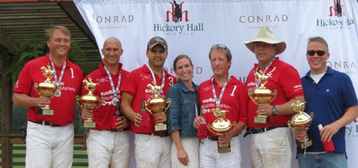 Winners from last year's polo match in Boone County. (Submitted photo)