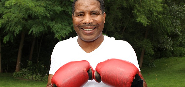 Alphonso Bailey, former boxer, now helps Fishers kids. (Photo by James Feichtner)