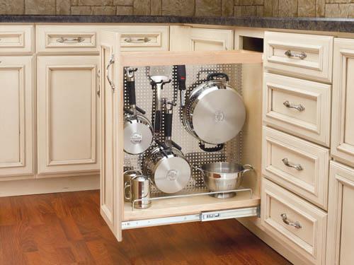 column cut down on the clutter kitchen storage ideas - Kitchen Storage Ideas