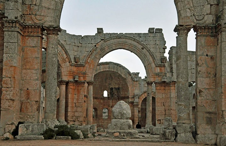Church of St. Simeon the Stylite. (Photo by Don Knebel)
