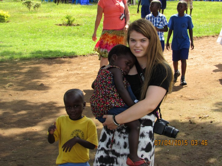 Melanie Lynch of Carmel recently returned from a mission trip to Uganda. (submitted photo)