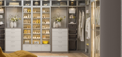 Inside a walk-in closet designed by California Closets. (Submitted image)