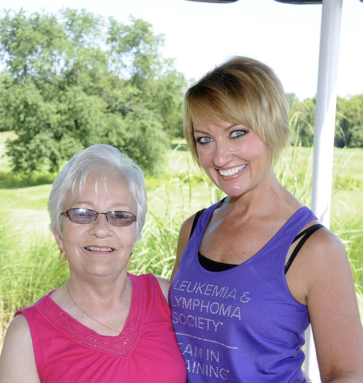 Heather Foster with her mother, Sandy Rose, left. (Submitted photo)