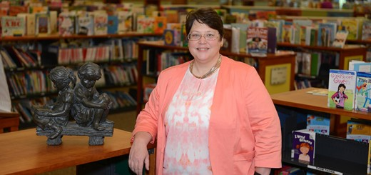 Carolyn Goolsby stepped into her role as director of the Carmel Public Library on Aug. 17. (Photo by Theresa Skutt)
