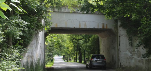 The Zionsville Rail Trail bridge over Starkey Road is expected to be repaired. (Photo by Ann Marie Shambaugh)