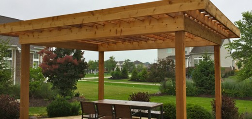 A pergola was the perfect solution for a family seeking shade. (Submitted photo)