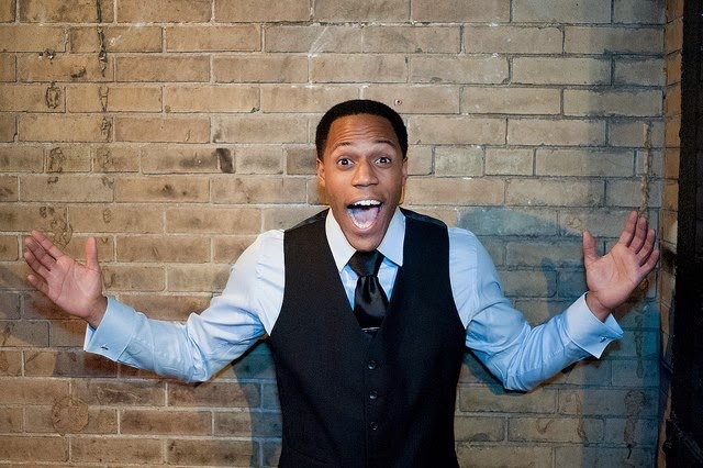 Dwight Simmons is a comedy who lives in New York. He graduated from Carmel High School and is returning on Aug. 30. (Submitted photo)