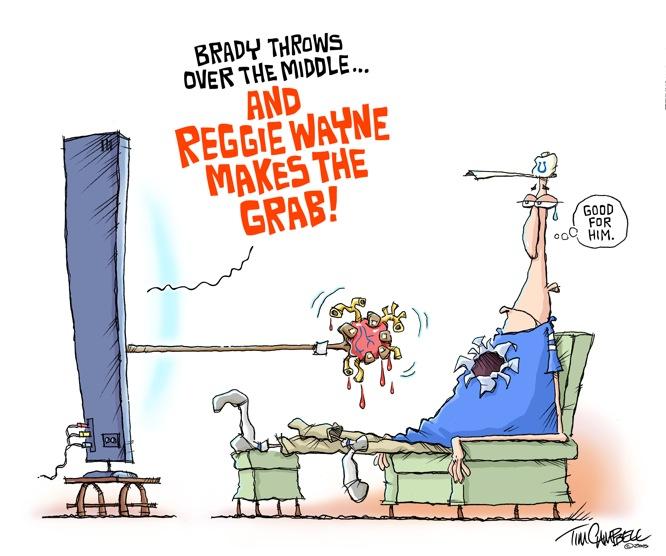 Reggie Wayne Makes The Grab