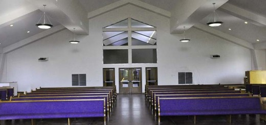 The new sanctuary at Bethlehem Lutheran Church can seat 200 people. (Submitted photo)