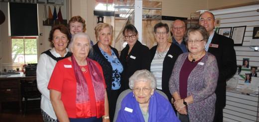 Members of the Carmel Clay Historical Society. (Photo by Mark Ambrogi)