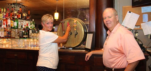 After three weeks of renovations, Owner Jim Pickering and Bartender Linda Malone talk about why Westfield's oldest local pub is special to the city. (Photos by Sadie Hunter)