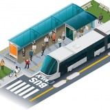 The Westfield and IndyGo Study for Red Line Rapid Transit will begin this fall. (Rendering provided by IndyGo)