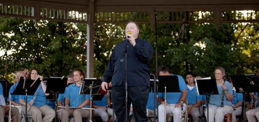 Charles Conrad conducts the Indiana Wind Symphony. Conrad is leading the efforts for the first year of the Celebration of Bands in Carmel. (Submitted photo)