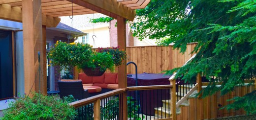 The massive remake of a deck turned into a stunning place for a Carmel family. (Submitted photo)