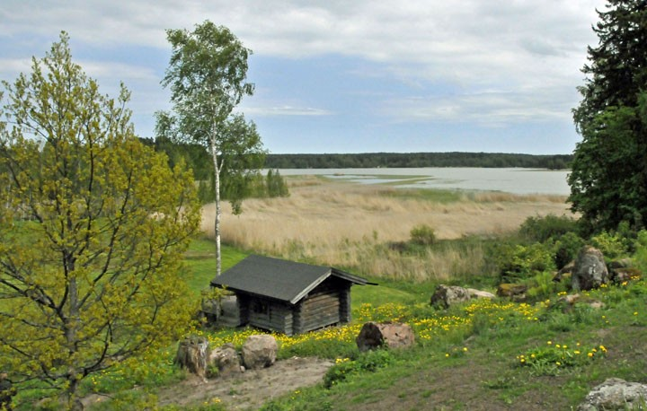 Smoke Sauna on a farm in Finland. (Photo by Don Knebel)
