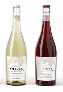 Available in soft white or soft red, the sparkling wines of Oliver Winery are some of the new flavors to try this fall. (Submitted photo)