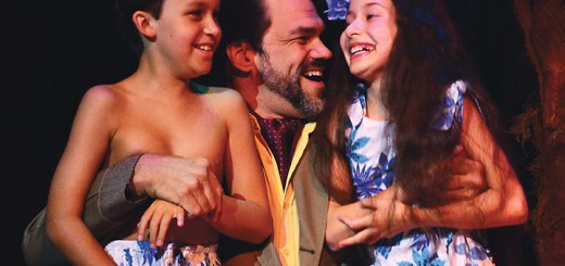 """Anjali Rooney, far right, plays Ngana in """"South Pacific,"""" on stage now at Beef & Boards. (Submitted photo)"""
