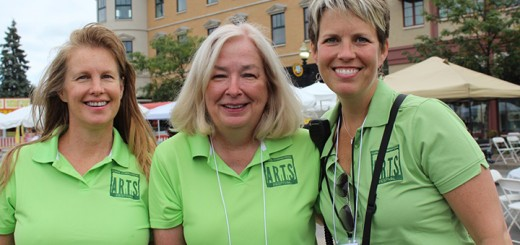 Supergirls Unite. The 2015 Festival team members from left: Publicity Chair Lynda Pitz, Executive Director and Treasurer Rosemary Waters and President Dawn Fraley did a fantastic job making sure the festival ran smoothly.