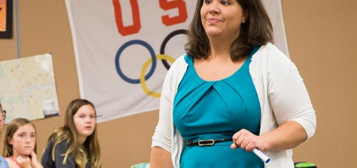 Kelly Day is a WMS math teacher who was the youngest recipient ever for the Fulbright Distinguished Award in Teaching. (Photos by Feel Good Now)