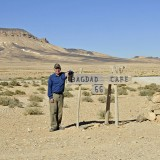 Don Knebel visits the Syrian 66 desert in November 2010. (Submitted photo)
