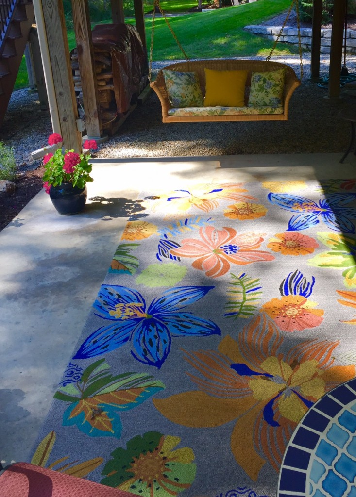 """Turning a patio from dark and boring to vibrant and enjoyable takes what Randy Sorrell calls """"solutioneering."""" (Submitted photo)"""