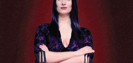 "Erin Cohenour as Morticia in Beef & Boards' ""The Addams Family."" (Submitted image)"