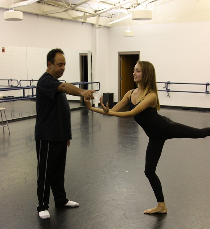 """Carmel teenager Mackenzie Kirk is one of eight dancers to portray victimized children in """"Remembrances: A Ballet in the Memory of the Victims of the Holocaust."""""""
