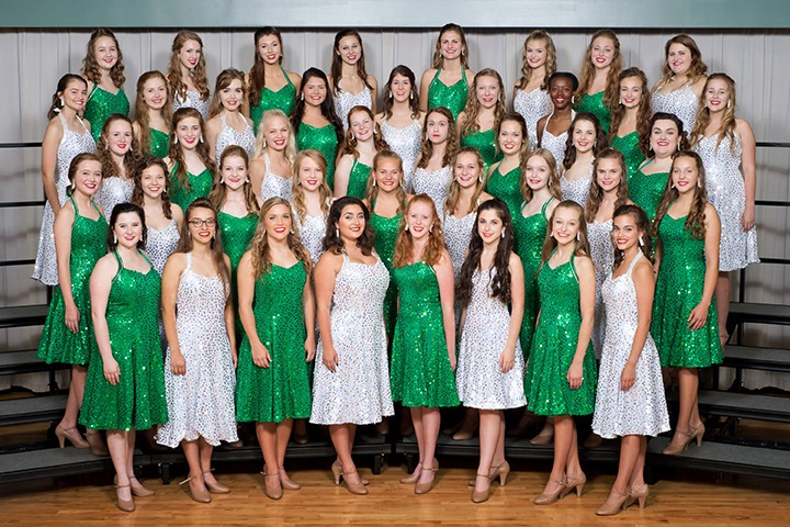 The Ambassadors and Accents choirs of Carmel will perform Oct. 25 for the choirs' largest fundraiser of the year. Pictured here are Ac- cents choir members. (Submitted photo by Sam Milosevich)
