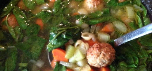 Italian wedding soup will warm up any tailgating party. (Submitted photo)