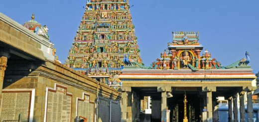 Kapaleshvara Temple in Chennai, India (Photo by Don Knebel)