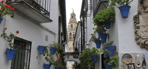 A street in the Jewish section of Cordoba, Spain. (Photo by Don Knebel)