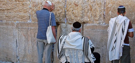 Praying at the Western Wall (Photo by Don Knebel)