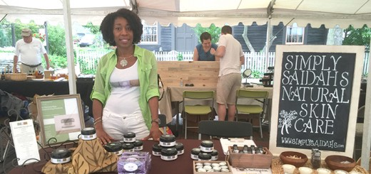 Saidah Pearsall, of Carmel, with some of her products. (Submitted photos)