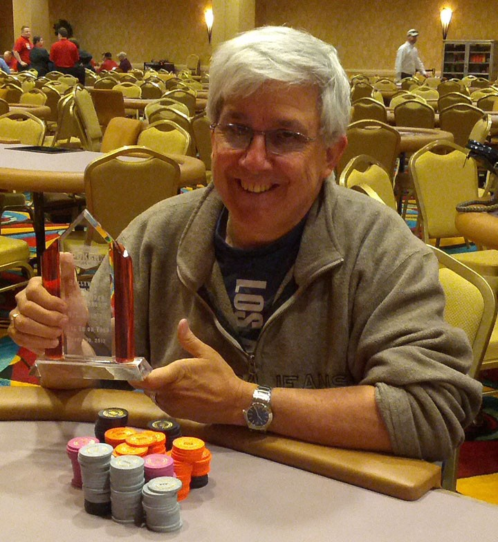 Jerry Zehr won first place at the All-In Tournament at the Hollywood Casino in Lawrenceburg in 2013. (submitted photo)