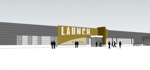 Rendering of Launch Building