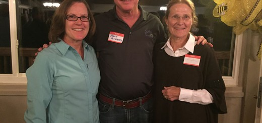 Supporters of the New Suburban Southwest Sub-District Addendum attended an open house at Wood Wind Golf Course on Nov. 4. From left: Jen Smith, Dr. Bruce VanNatta and Dr. Ginny Kelleher. (Photos by Anna Skinner)