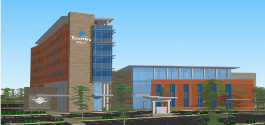A proposed rendering of the Riverview Health Westfield facility. (Submitted image)
