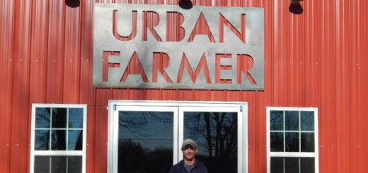 Noah Herron stands by the new location for Urban Farmer, 120 E. 161st St. (Submitted photo)