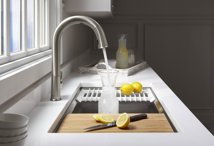 The Kohler Prolific sink is just one of many modern options to incorporate into your kitchen. (Submitted photo)