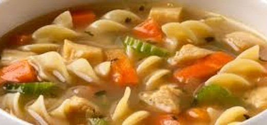 A simple chicken noodle soup. (Submitted photo)