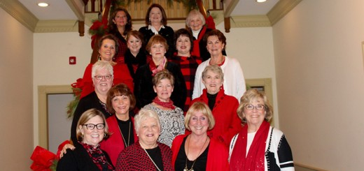 Coxhall Guild members: Linda Johnson, Sharon Terry, Pat Kirk, Sandy Turnbull, Joey Kempler, Marty Kaderabek, Annette Post, Audrey Nelson, Becky Rogers, Tami Mitchell, Polly Crumley, Joyce Winner, Anita Ford, Becky Cheetham, Mary Robinson and Jill Mead.