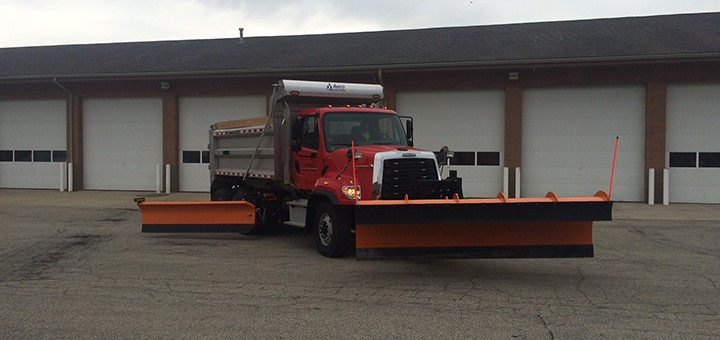 Carmel has a fleet of new trucks to help keep streets clear this winter. (Submitted photo)