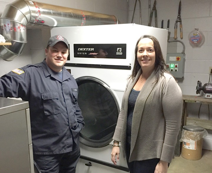 Westfield Fire Department Buys New Washer Dryer Current