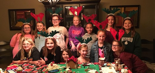 Troop 1625, Ava Lee, Ava Scheerer, Nora Flickinger, Lillie Wade, Allison Emgenbroich, Maren Hilbert, Abbi VanBibber, Laney Binford, Alex Peltonen, Katelyn Alford, Karigan Durso, Alyssa Wininger and Mary Kate Sloan, from Maple Glen won the Junior division.