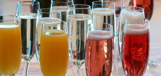 Adding in flavors to champagne can turn an average bottle of bubbly into a festive drink. (Stock art)