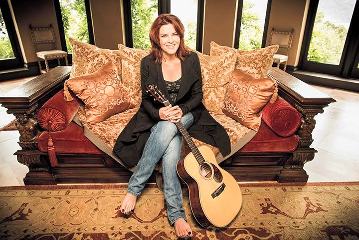 Rosanne Cash, now a New Yorker, will visit Carmel Jan. 8. (Submitted photo)